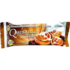 (002337) Quest Nutrition - Quest Bar - Cinnamon Roll - 1 Bar - 5g CARBS