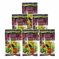 (123229) (6 packets) Walden Farms - Dressing - Italian - 1 oz