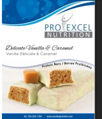 (279) ProExcel Delicate Vanilla & Caramel Bar - IDEAL PROTEIN COMPARABLE - RESTRICTED - (7 Servings)