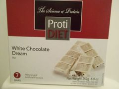 (354729) ProtiDiet White Chocolate Dream Bar - (7/Box) =Alternative to Ideal Protein - Unrestricted
