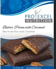 (275) ProExcel Chocolate Pecan & Caramel Bar - - - RESTRICTED - (7 Servings)
