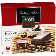 (420035) Protidiet Supreme Chocolate Bar - - (7/Box) =Alternative to Ideal Protein - Restricted