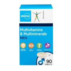 (102372) Atoma Multivitamins & Minerals - Men's Formula