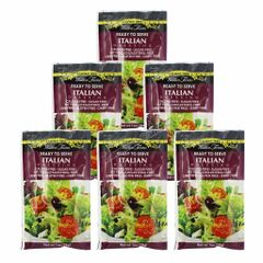(WF-I) Wal-(6 packets) Walden Farms - Dressing - Italian - 1 fl oz packet