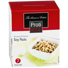 ( 352688) ProtiDiet Soy Nuts - Roasted & Salted (7/Box) = ALTERNATIVE TO IDEAL PROTEIN --- UNRESTRICTED