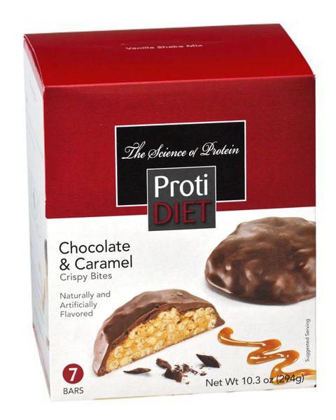 Protidiet Protein Crispy Bites Chocolate Caramel Exceling