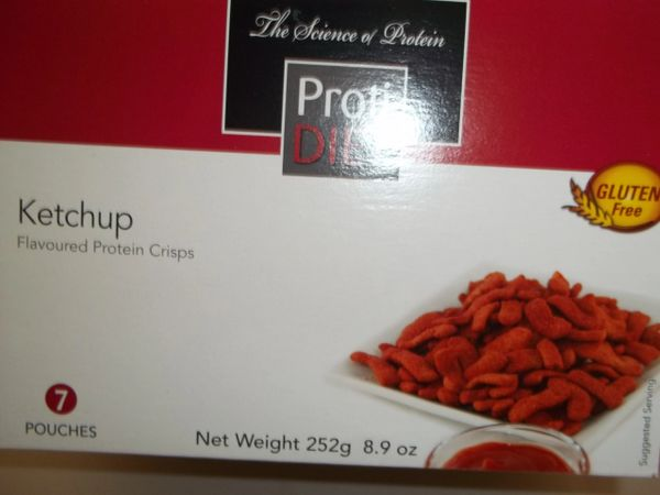 Protidiet Protein Ketchup Crisps Exceling Nutrition
