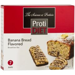 (353029)ProtiDiet Protein Bar - Banana Bread (7/Box)= ALTERNATIVE TO IDEAL PROTEIN --- RESTRICTED