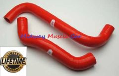 08 09 Pontiac G8 GT Cold-Case Silicone Radiator Hose Kit - RED # LMG5019R