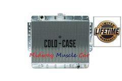 66 67 Chevy Impala Caprice Bel Air Biscayne Cold-Case aluminum radiator