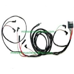 63 Ford Falcon v8 Engine Gauge Feed Wiring Harness 1963 221 260 289