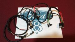 64 Ford Mustang v8 Engine Gauge Feed Wiring Harness 1964 260 289