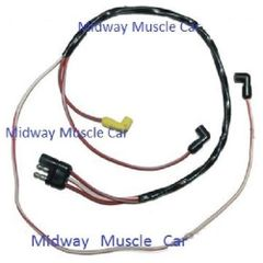 69 70 Ford Mustang Mercury Cougar Engine Gauge Feed wiring harness 390 429 428