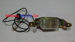 license plate light lamp assembly 65-72 Pontiac GTO Lemans Tempest