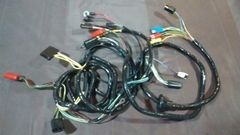 front end headlight feed firewall wiring harness 67 Ford Mustang w/o tach w/o GT