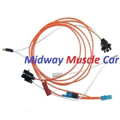 under dash courtesy light wiring harness 70 71 72 chevy Camaro