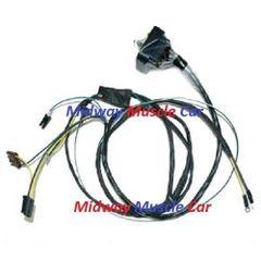 engine wiring harness V8 71 Oldsmobile Cutlass F-85 Hurst 4-4-2 350 455