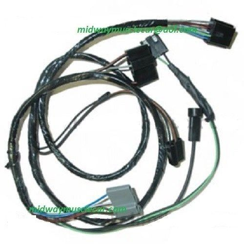 engine a c control wiring harness 69 72 pontiac gto lemans. Black Bedroom Furniture Sets. Home Design Ideas