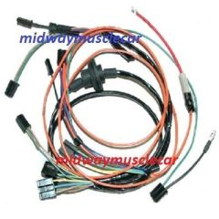 a/c wiring harness 69 70 Chevy Corvette air condtitioning 350 454 ncrs
