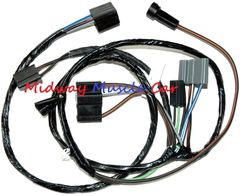 engine side A/C control wiring harness 69-72 Pontiac Firebird Trans Am T/A