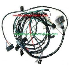 front end head lamp light wiring harness 69 Olds Cutlass F-85 Hurst 4-4-2 a/c