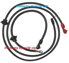 72 73 74 C3 original Correct Chevy Corvette Battery Cable Set