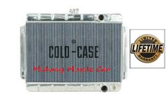 64 65 Chevy Chevelle Cold-Case aluminum performance radiator w/ manual trans # RPE541