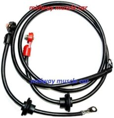 69 Chevy Corvette C3 original Correct BATTERY CABLE Set side post