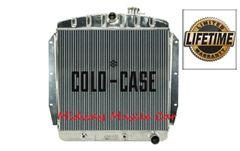 55 56 57 58 59 Chevy GMC pickup truck suburban Cold-Case aluminum performance radiator # RPE567