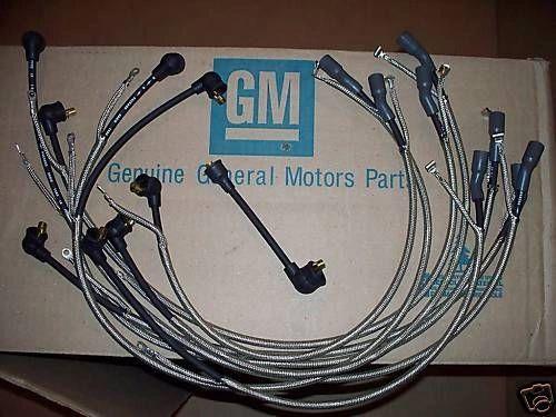 1-Q-65 dated plug wires 65 Chevy Corvette 396 & radio