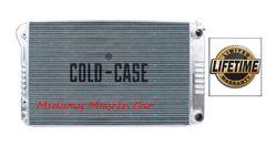 68 69 70 71 72 Chevelle GTO 442 Cutlass Skylark Cold-Case aluminum radiator for LS swap # RPE546A