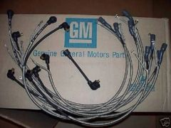 1-Q-68 dated plug wires 68 Chevy Corvette 427 & radio