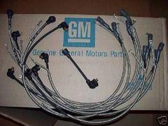 1-Q-68 dated plug wires 68 Chevy Corvette 427 & radio