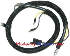 spring ring positive battery cable to starter 64 65 Buick Gran Sport