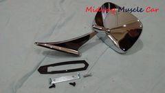 outside round side view mirror 69-72 Pontiac GTO Firebird Bonneville