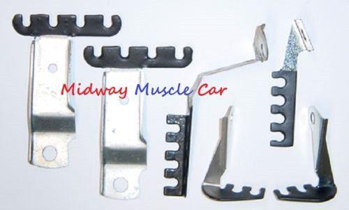 spark plug wire retainer bracket kit 70 1970 pontiac gto lemans j   midway  muscle car