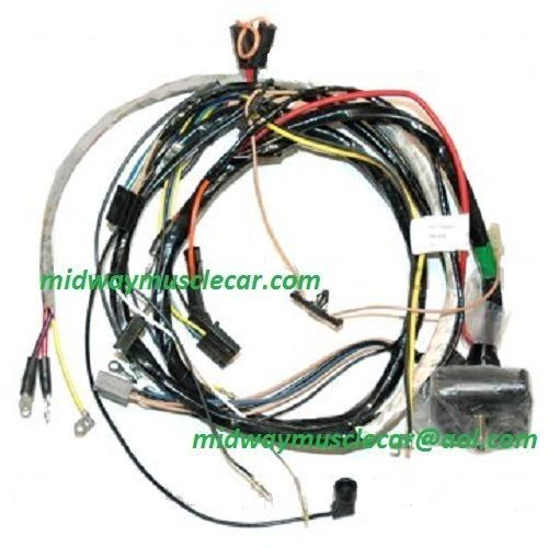 71 72 73 74 engine wiring harness chevy corvette 454 350 vette stingray vet  | midway muscle car