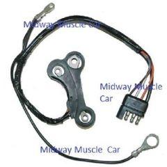 69 Ford Mustang Mercury Cougar VOLTAGE REGULATOR TO ALTERNATOR HARNESS w/ tach
