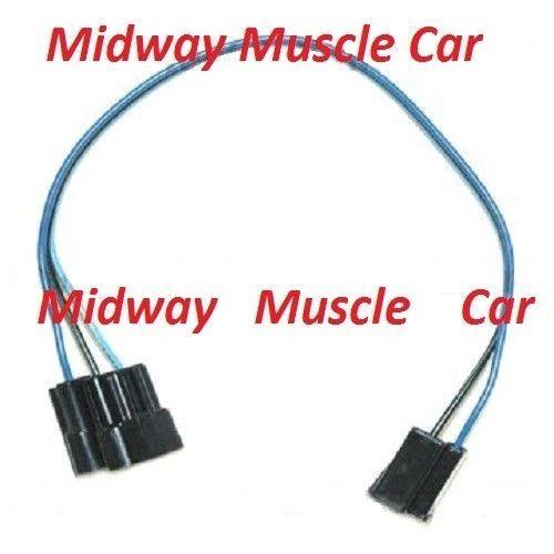 1966 Chevelle El Camino Windshield Wiper Switch Extension Wiring
