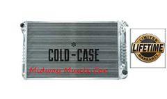 67-76 Chevy GMC Pickup truck Suburban Cold-Case aluminum performance radiator # RPE558ATF