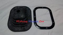 4 spd manual trans floor shifter boot & retainer ring 64 65 66 67 Chevy II Nova