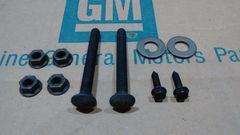 gas fuel tank strap mounting hardware kit 67 68 69 Chevy Camaro Pontiac Firebird