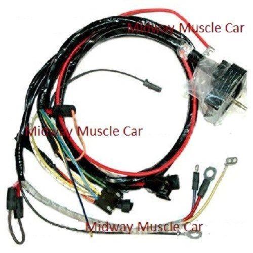 engine wiring harness 70 Chevy Corvette 454 350 396 vette stingray manual trans
