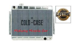 66 67 Chevy Chevelle Cold-Case aluminum performance radiator w/ manual trans # RPE542