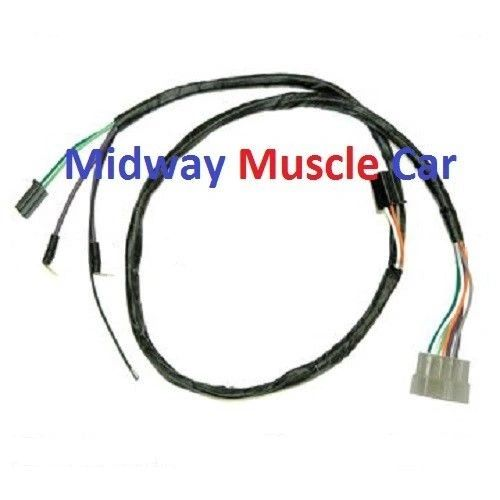 auto trans front console wiring harness 66 67 pontiac gto. Black Bedroom Furniture Sets. Home Design Ideas
