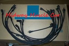1-Q-66 date coded spark plug wires V8 66 Oldsmobile 442 Cutlass 88 330 425 olds