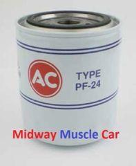 correct classic AC Delco PF24 Oil Filter 67-74 Pontiac GTO T/A Firebird G/P