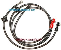 71 Chevy Corvette C3 original Correct BATTERY CABLE Set
