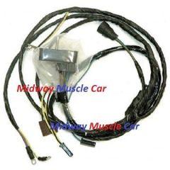 engine wiring harness V8 72 Oldsmobile Cutlass Hurst olds 4-4-2 350 455