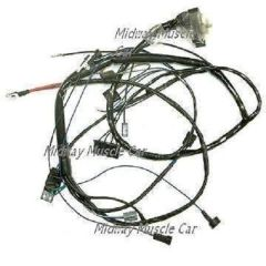 3-Q-68 date coded plug wires V8 69 Pontiac GTO T/A G/P